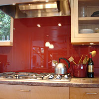 backpainted glass products