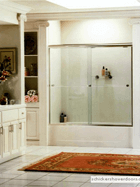 alumax sliding glass shower door