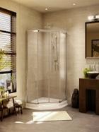 Fleurco Banyo glass shower enclosure