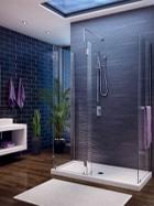 Fleurco Evolution glass shower enclosure