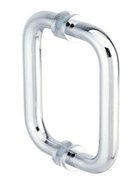 glass shower door handle