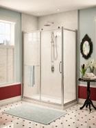 Fleurco Roma glass shower enclosure