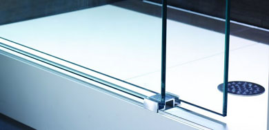 shower door threshold