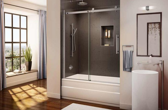 Novara Tub Door and Panel