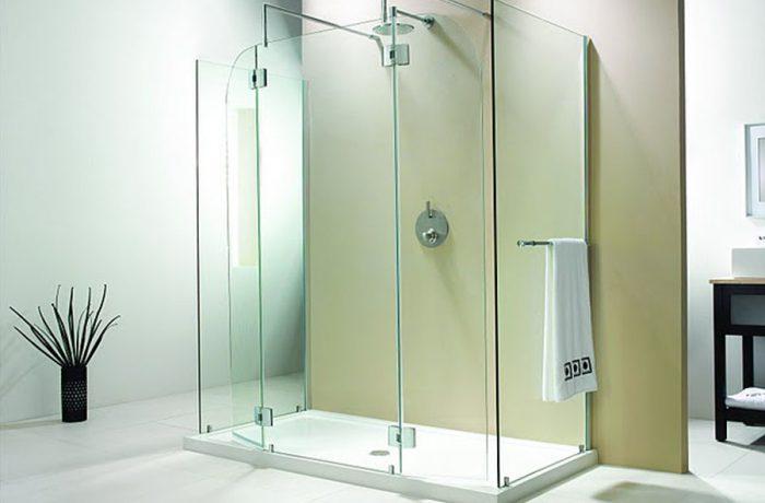 Evolution 6' 5″ Panel Square Model Walk-In Shower