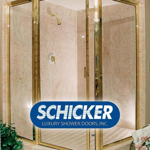 Schicker Luxury Shower Doors Bay Area Custom