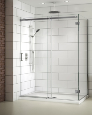 Apollo CW 2 Sided slider, shower height shower door