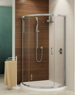 Capri Arc 3 Slider shower height door