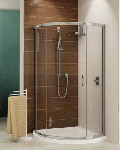 Capri Arc 3 Slider shower height door