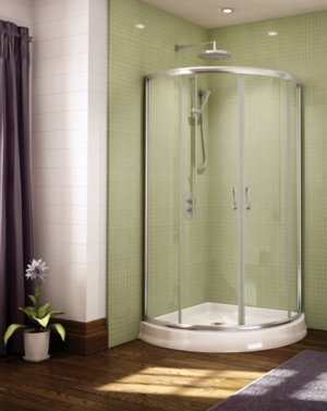 Capri Arc 4 Slider shower height door