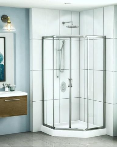 Capri Neo Slider shower height door