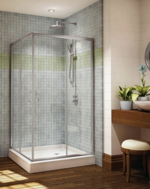 Capri Square Slider shower height door