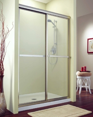 Catalina Bypass Slider shower height door