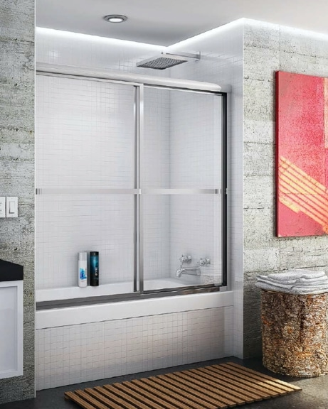 Catalina Bypass Tub Slider shower door