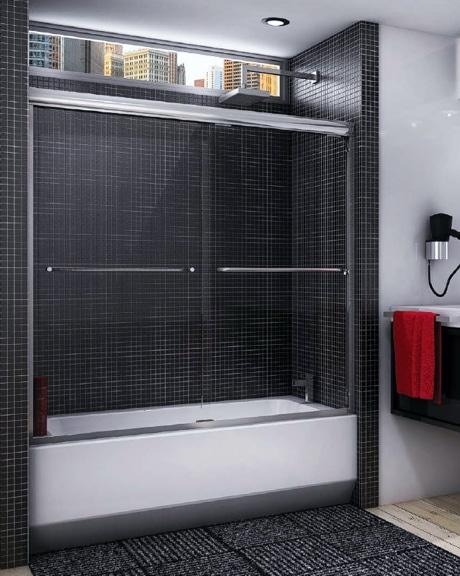 Cordoba Bypass Tub Slider shower door