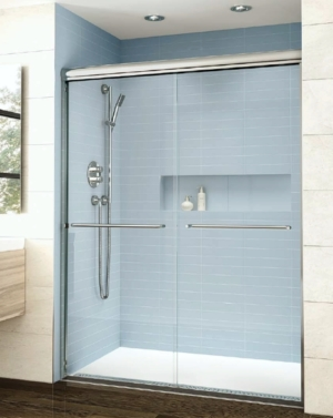 Cordoba Plus Bypass Slider shower height door