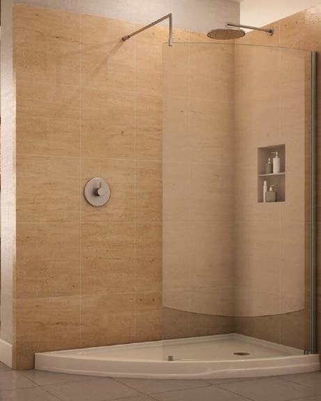 Fleurco Shower Doors | Slice Corner | Eclipse V