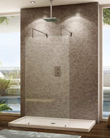 """Euro """"V"""" Shower Panel shower height"""