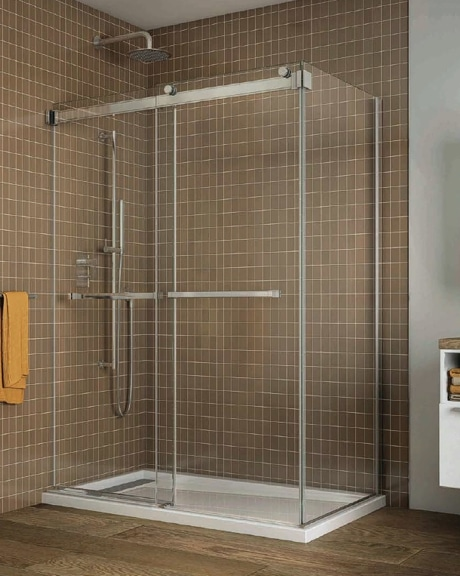 Gemini Bypass 2 Sided Shower Slider Schicker Luxury