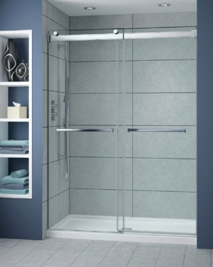 Gemini Plus Bypass Slider shower height door