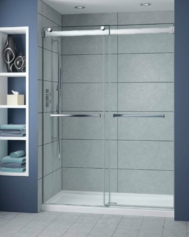 Gemini Plus Bypass Slider shower height door