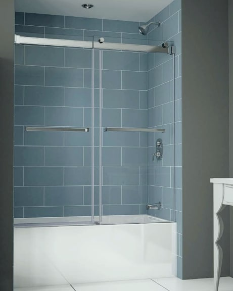 Gemini Plus Bypass Tub Slider shower door