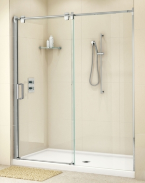 Glide In-Line Slider shower height door