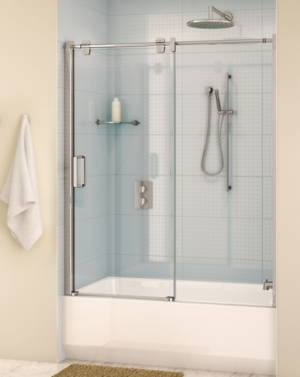 Glide In-Line Tub Slider shower door