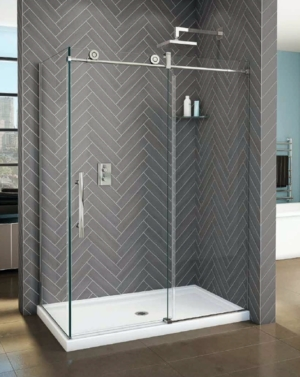Kinetik KN CRP 2 Sided Slider shower height door