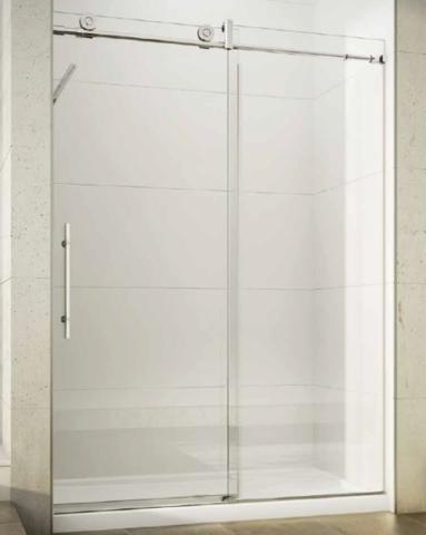 Kinetik KN In-Line Slider shower height door