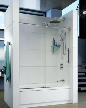 Kinetik KN In-Line Tub Slider shower door