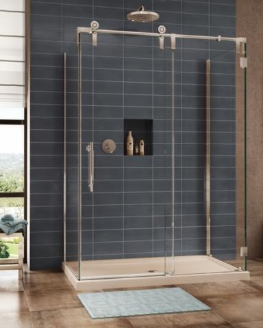 Kinetik KS CRP 3 Sided Slider shower height door