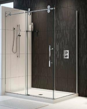 Kinetik KT CRP 2 Sided Slider shower height door