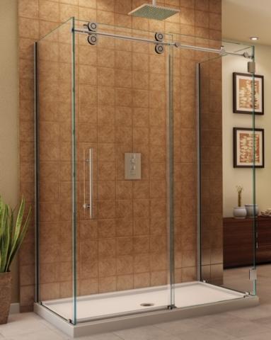 Kinetik KT CRP 3 Sided Slider shower height door