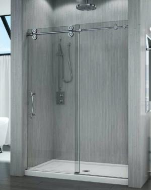 Kinetik KT In-Line Slider shower height door