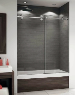 Kinetik KT In-Line Tub Slider shower door