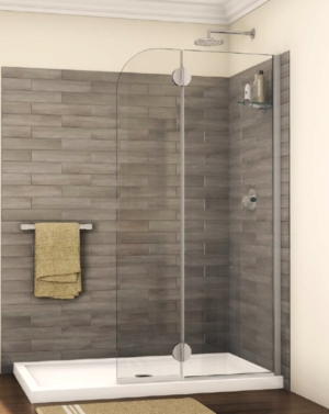 Monaco Round Top Shower Shield shower height