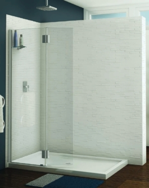 Monaco Square Top Shower Shield shower height