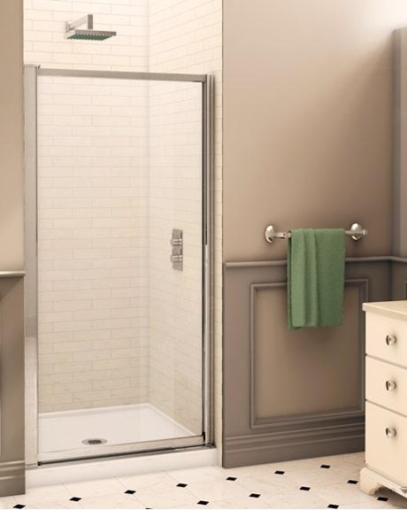 Montreal Single Pivot Door shower height