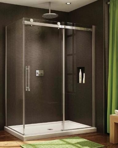 Novara CRP 2 Sided Slider shower height door