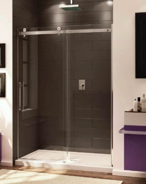 Novara In-Line Slider shower height door