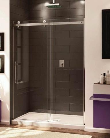 Novara In-Line Slider shower height door