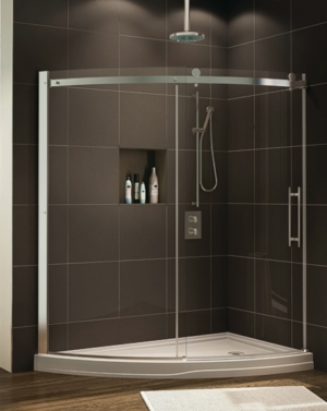 Novara Slice Slider shower height door