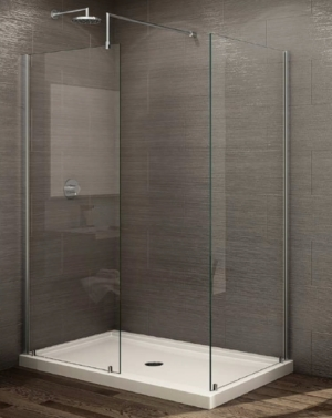 "Petra ""V"" Shower Panel shower height"