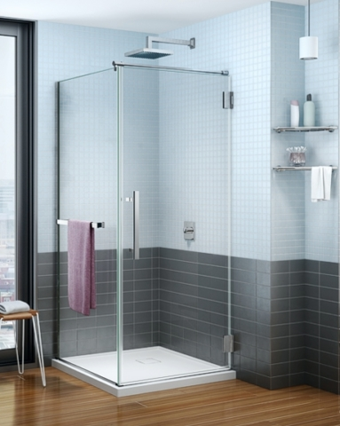 Platinum Cube Pivot Door shower height