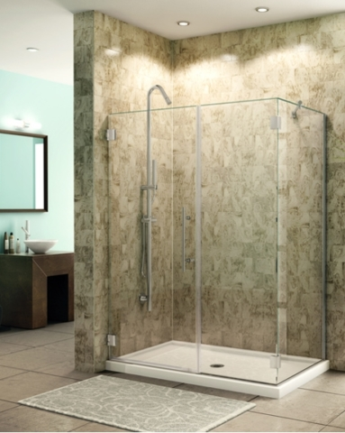 Platinum Kara 2 Sided Pivot Door shower height