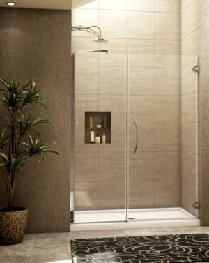Platinum Kara In-Line Pivot Door shower height
