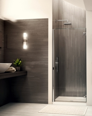 Platinum Kara Single Pivot Door shower height