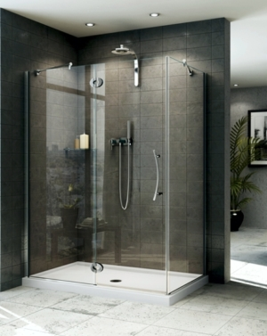 Platinum Lexus 2 Sided Pivot Door shower height