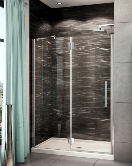 Platinum Lexus In-Line Pivot Door shower height